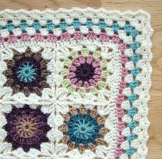 granny circles & squares