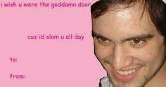 Brandon Urie panic at the disco patd p! Funny Valentines Cards, Valentine Images, Valentines Gifts For Boyfriend, Valentines For Kids, Valentine Ideas, Emo Bands, Music Bands, Band Memes, Mcr Memes