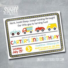 Hey, I found this really awesome Etsy listing at http://www.etsy.com/listing/126199861/on-the-go-honk-honk-beep-beep-diy