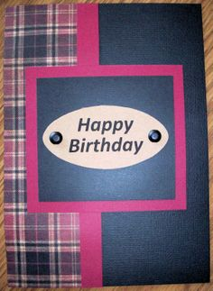 Birthday Plaid by Julie's Creations