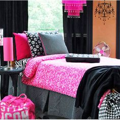 Deck My Dorm Announces 17 New College Dorm Bedding Sets for Girls in Twin Extra Long Dorm Bedding Sets, Girls Bedding Sets, Girls Bedroom, Bedroom Ideas, Bedroom Inspiration, Bedroom Decor, College Dorm Decorations, College Dorm Rooms, College Dorm Bedding