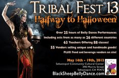 Sebastopol, CA We have 63 teachers this year and 88 different offerings, not counting Kajiras Teacher Training or the Salimpour evening class! Most workshops are festival style: 2 hours long. We have 3, 4 and 6 hou… Click flyer for more >>