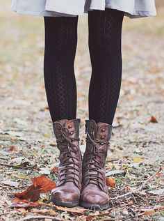 tights + #boots