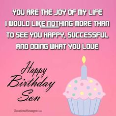 Choose from a wonderful collection of birthday wishes for son from mom and dad. Surprise your son with these beautiful messages.
