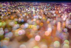 Takashi Kitajima captures dazzling #Tokyo cityscapes seen through colorfully dreamy #bokeh.