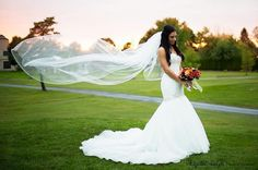 Ferri Formals Bride: Mermaid wedding gown