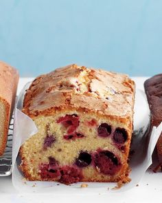 Berry-Cornmeal Pound Cake Recipe