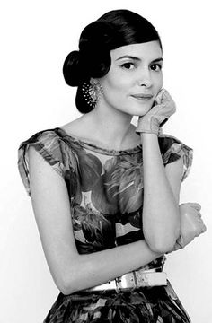 Audrey Tautou. Love her style!