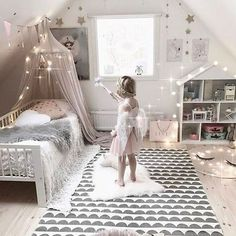 Baby Playroom Interior with Solid Color Cotton Bed Canopy Inspiration - bed. - Baby Playroom Interior with Solid Color Cotton Bed Canopy Inspiration – bed canopy diy, bed - Baby Bedroom, Girls Bedroom, Bedroom Decor, Room Baby, Trendy Bedroom, Bedroom Inspo, Baby Playroom, Playroom Decor, Princess Room