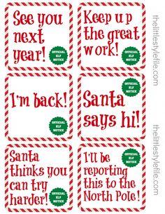 Naughty List Warning Notice from Santa — Free Printable #2: 9dcfce9c e482d4d c9493d4 holiday ideas christmas ideas