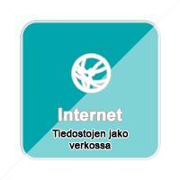 Tiedostojen Jako Verkossa Internet, App, Logos, Badges, Logo, Badge, Apps