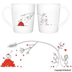 Love You Madly Couple Mugs