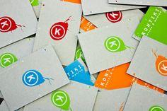Kontiki businesscards by Daniele Troiani