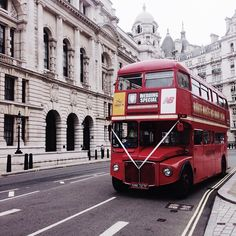 My son had a London bus pick everyone up at the Register Office after his wedding, and it took on a picturesque tour of London sights before taking us to the Reception venue. So cool, and such a surprise for everyone! Memories! :-)