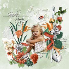 E Photo, Anna, Garden, Party, Painting, Design, Garten, Lawn And Garden, Painting Art