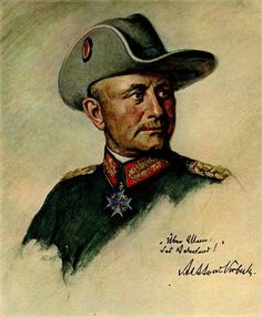 The Lion of Africa, officer and gentlemen, General Paul von Lettow Vorbeck undefeated commander of Imperial German Forces in Africa.