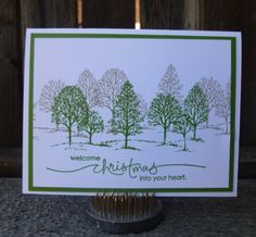 Christmas, Lovely as a Tree, Stampin Up
