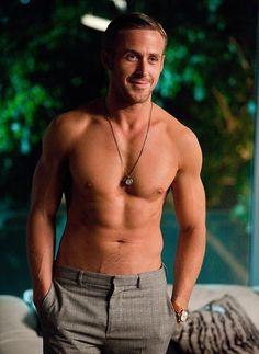 Ryan Gosling in topless scene from recent movie