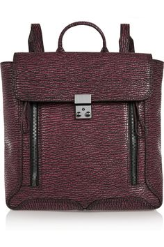 3.1 Phillip Lim | The Pashli textured-leather backpack (=)