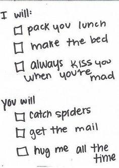 Especially the hugs :)