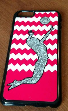 Iphone 6 snap-on case  volleyball and bright by DynamicExpressions