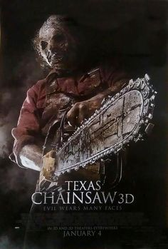 New - Texas Chainsaw 3D Poster