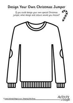 Design your own Christmas jumper