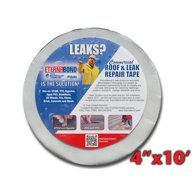 Eternabond Rv Rubber Roof Repair Tape 4 X 10 Roll White Walmart Com Repair Tape Roof Repair Leak Repair