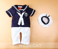 christening outfits for babies 9 months Sailor Outfits, Sailor Dress, Boy Outfits, Nautical Outfits, Nautical Party, Little Boy Fashion, Baby Boy Fashion, Baby Shower Frame, Anchor Baby Showers