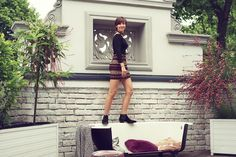Art Nouveau, Leather Skirt, Modern, Skirts, Home, Ideas, Fashion, Moda, Skirt