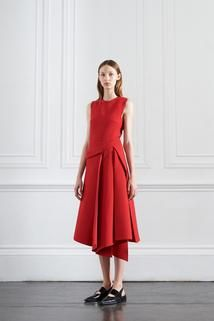 Victoria Beckham Resort 2016.  Dress... No on the shoes.