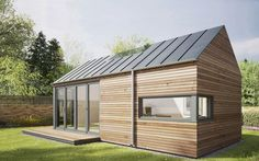 UK Garden Pods & Outdoor Office Building Designed By Pod Space