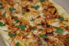 Tailgaiting - Grilled Bone Suckin' Barbecued Chicken Pizza Recipe Video
