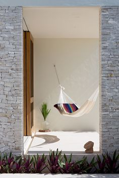 Relaxing Hammock. Casa Xixim in Tulum, Mexico. #architecture #design #hammock…