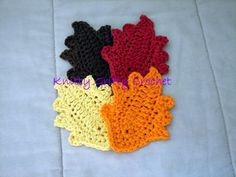 Fall Leaf Coasters/Decorations  http://www.facebook.com/profile.php?id=100003040644835