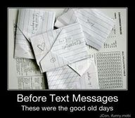 How I used to fold my notes