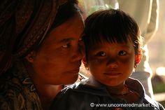 Mother and Daughter - Inle Lake, Burma by uncorneredmarket, via Flickr