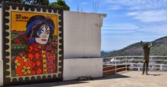 #MichaelJackson Street Art, Romero Britto, Rio, Brazil 2014 #MJAPWNN #DENoName