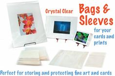 Clear bags scrapbooking pinterest clear bags scrapbooking clear bags and sleeves for greeting cards m4hsunfo