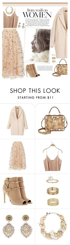 """#383"" by blacksky000 ❤ liked on Polyvore featuring Dolce&Gabbana, Valentino, Miss Selfridge, Miguel Ases and Erickson Beamon"