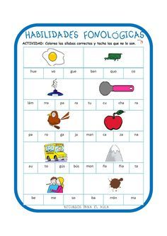 Our social Life Phonological Awareness, Writer Workshop, Speech And Language, Spanish Language, Teaching Materials, Speech Therapy, Phonics, Activities, Learning