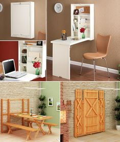 5 Incredible Folding Furniture Designs for Saving Space  - http://www.amazinginteriordesign.com/5-incredible-folding-furniture-designs-saving-space/