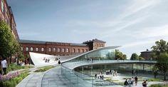 Natural History Museum Proposal  Kengo Kuma & Associates_ Erik Møller Arkitekter_ JAJA Architects