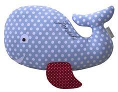 KUSCHELTIER WAL personalisiert von LittleOne auf DaWanda.com