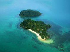 Aerial view(Song Saa Private Island), Sihanoukville, Cambodia