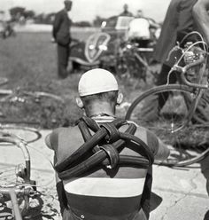 This is Victor Cosson, Tour de France 1939. Photo credit: AFP/STAFF