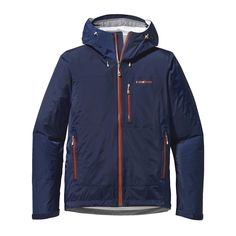 Patagonia Men's Torrentshell Stretch Jacket - The Torrentshell Stretch Jacket is a waterproof/breathable, fully featured H2No® Performance Standard shell. This 2.5-layer rain jacket with nylon ripstop fabric offers generous stretch through the arms and shoulders for mobility and protection in seriously wet weather.