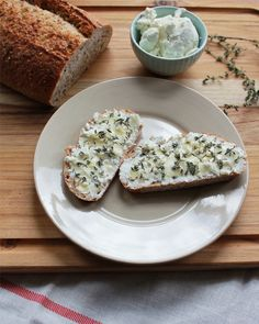 Goat Cheese Tartine | Big Girls, Small Kitchen