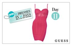 WIN: A Sheer Pink Corset Dress From GUESS