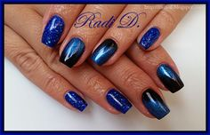 It`s all about nails: Royal Blue Sparkle http://radi-d.blogspot.com/2014/10/royal-blue-sparkle.html